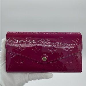Authentic Louis Vuitton Vernis Sarah wallet
